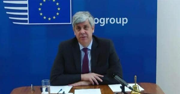 Il presidente dell'Eurogruppo Mario Centeno (Ansa)