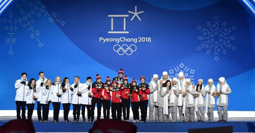 Sul podio. L'oro al Canada, l'argento al tema russo e il bronzo a quello statunitense