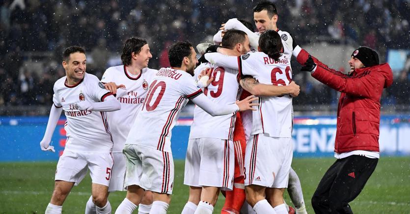 Coppa italia tim cup il milan piega la lazio ai rigori e for Piano casa lazio proroga 2018