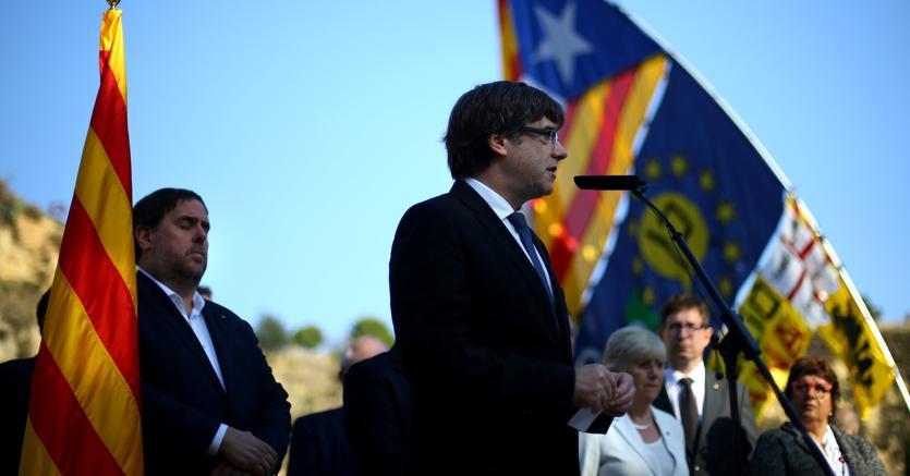 Carles Puigdemont . Foto Reuters