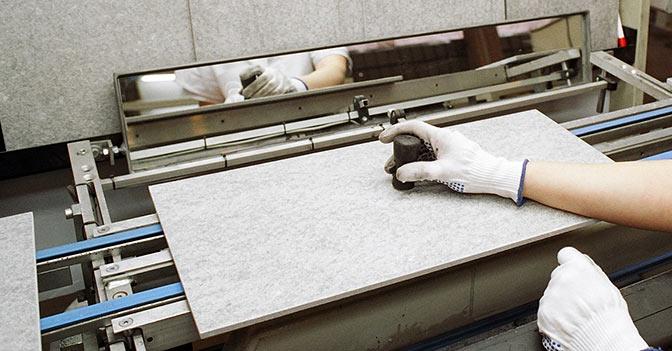 Le piastrelle di sassuolo si aggancia all expo con - Produzione piastrelle ceramica ...