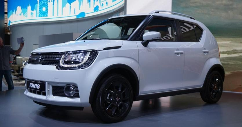 suzuki ignis a parigi debutta la versione europea il sole 24 ore. Black Bedroom Furniture Sets. Home Design Ideas