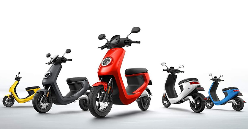 Lo scooter Niu M1