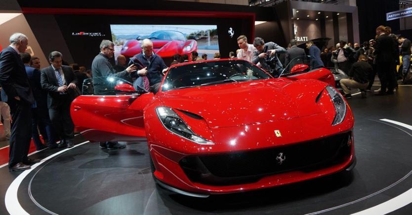 Ferrari 812 Superfast  (foto Mario Cianflone)