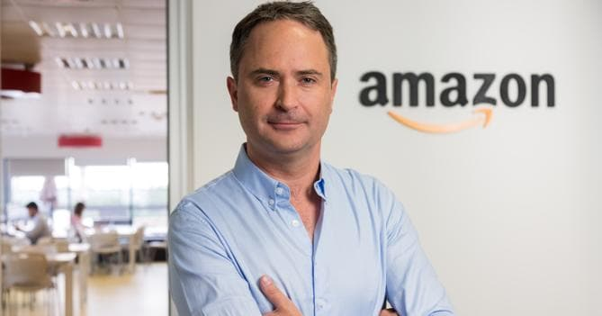 Francois Nuyts (responsabile  di Amazon in Italia e Spagna)
