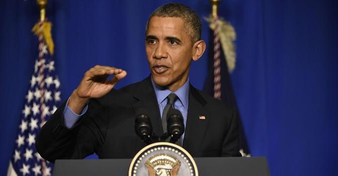 Il presidente degli Stati Uniti, Barack Obama (Afp)