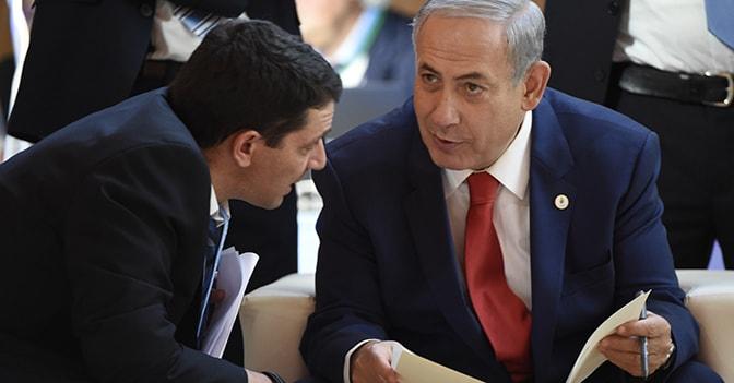 Renzi  Netanyahu (Afp)