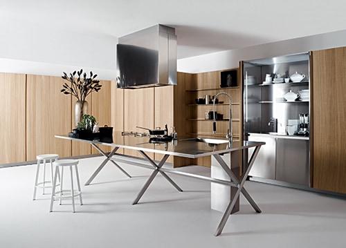 Iper tecnologiche super accessoriate ma di design ecco le cucine che vedremo al salone del - Arte sole cucine ...