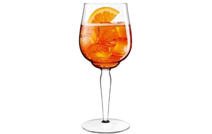 Lo Spritz perfetto ora ha anche il suo signature glass