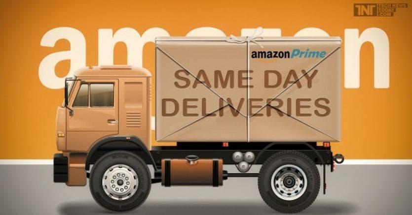 Da oggi Amazon consegna in un ora anche frutta e verdura