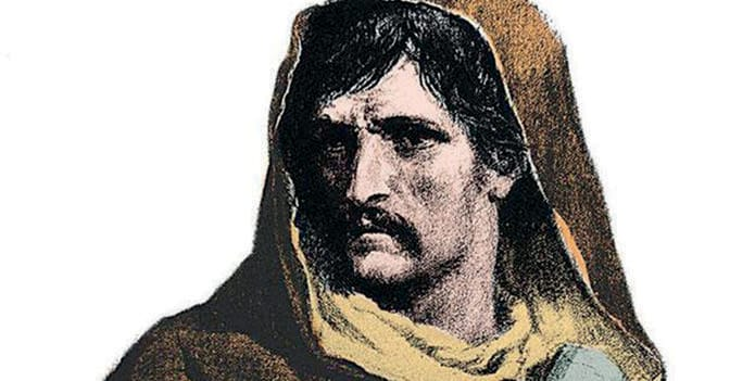 Giordano Bruno (in una stampa popolare del 700)