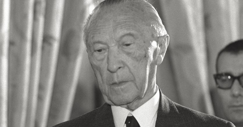 Konrad Adenauer. (Afp)