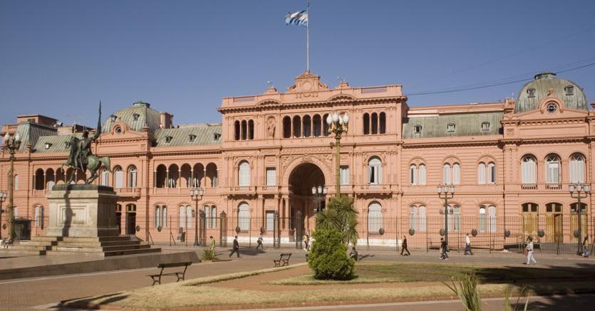 Buenos Aires.Buenos Aires.Buenos Aires. La casa Rosada, sede centrale del potere escutivo dellaRepubblica Argentina