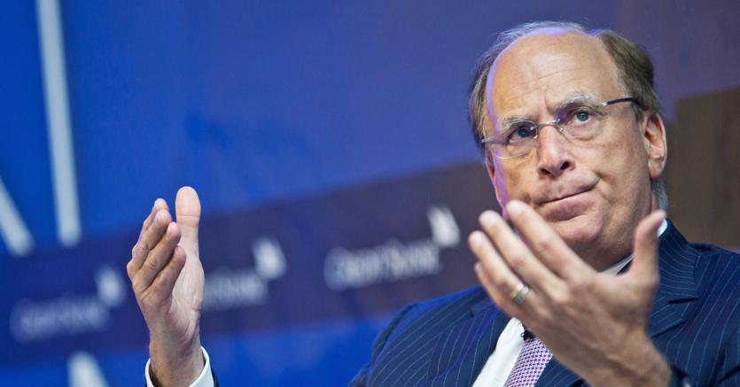 Larry Fink. (Bloomberg)