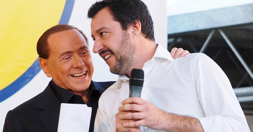 Elezioni, patto Berlusconi-Juncker: escludere la Lega dal Governo. Salvini: una fake news