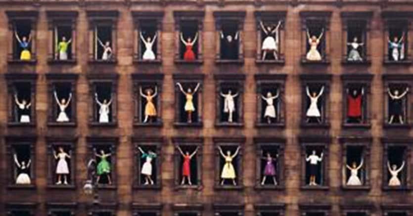 Ormond Gigli, Models in Window, 1960