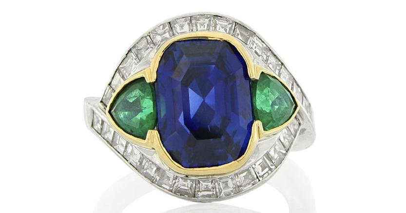 Anello realizzato dalla gioielleria Fasano di Torino