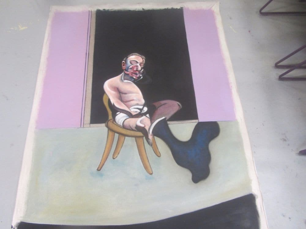 Francis Bacon Seated Man