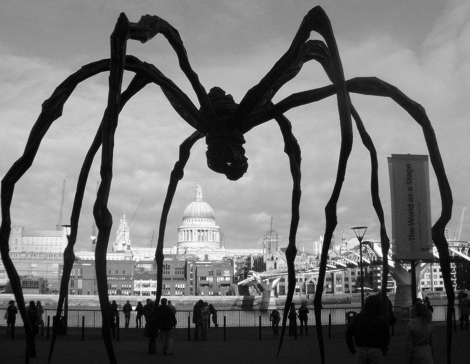 Spider, 1997, di Louise Bourgeois
