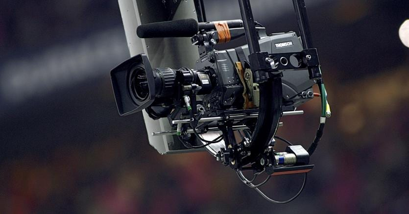 Una steadycam allo Stade de France (AFP Photo)