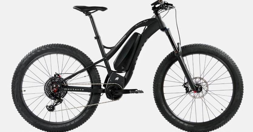 La Bat Bike realizzata da  Montante Cicli