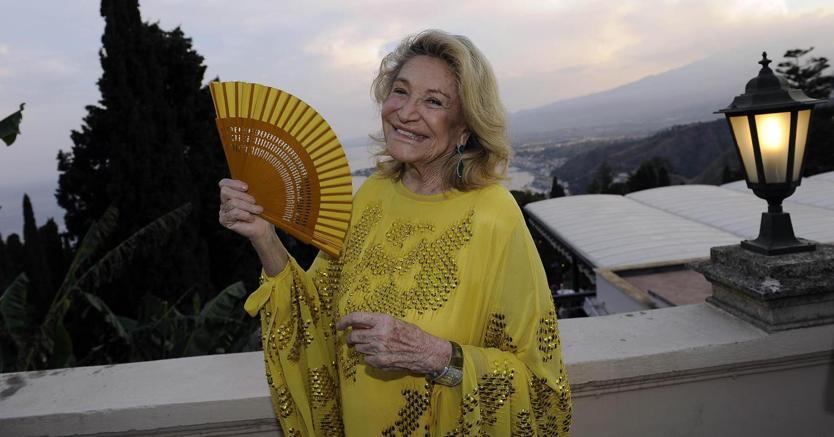Marta Marzotto. (Ansa)