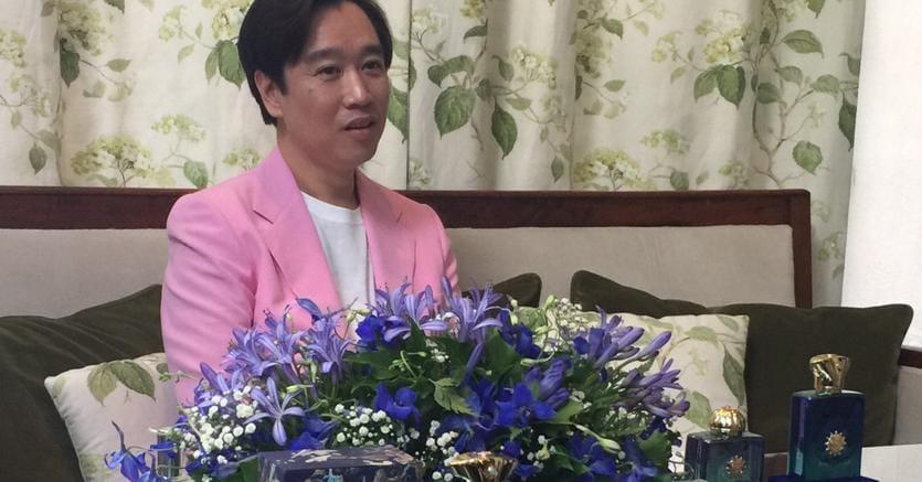 Mr. Christopher Chong al lancio delle fragranze Figment