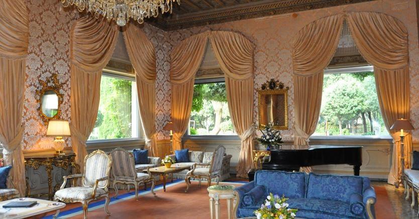 Villa Taverna, sede dell'Ambasciatore americano a Roma