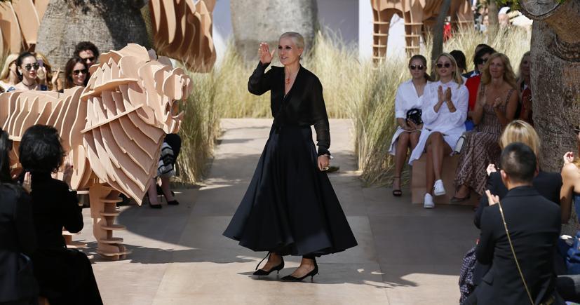 7299a5e29e Maria Grazia Chiuri  «Italia e Francia più unite nella moda. Le nostre  istituzioni imparino da quelle francesi»