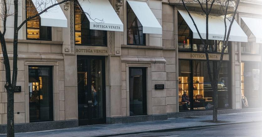 La townhouse Bottega Veneta, terza Maison dopo Milano e Beverly Hills, inaugurata la scorsa settimana al 740 di Madison Avenue