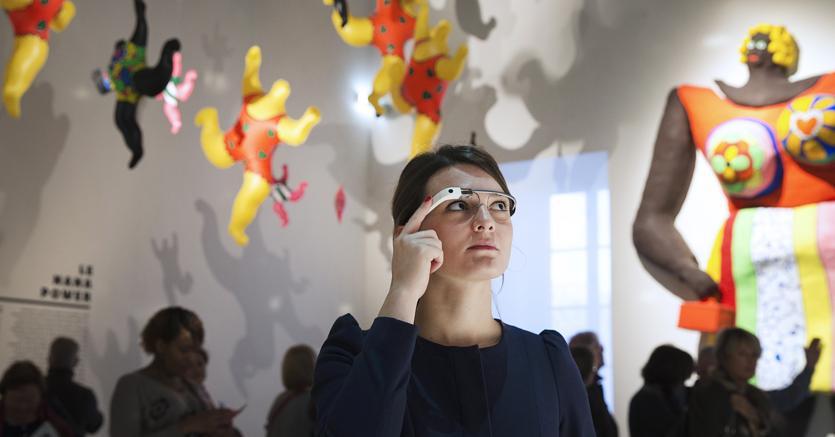 Google Glass (Afp)