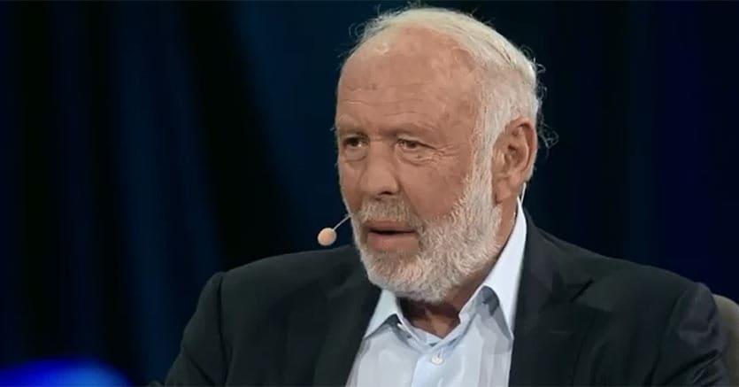 """James """"Jim"""" Simons nel corso dell'intervista rilasciata a Chris Anderson di Ted"""