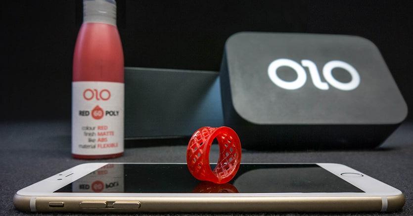 Olo, la stampante 3D per smartphone