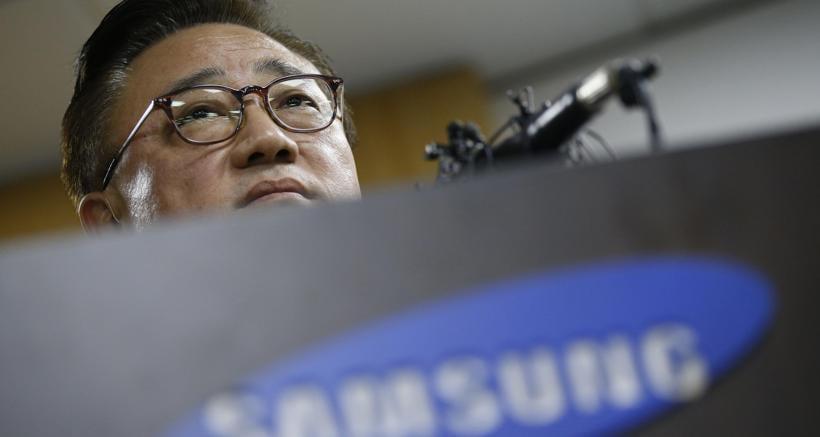 Koh Dong-jin, presidente di Samsung Electronics' mobile business. Foto Ap
