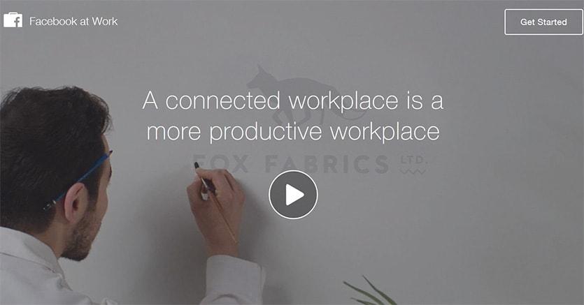 Arriva Facebook at Work, ecco il social network al lavoro
