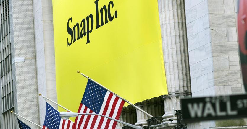 Mondo Snapchat, debutto record in Borsa
