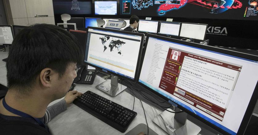 Monitoraggio dell'attacco ransomware all'Agenzia coreana per la sicurezza (AFP)