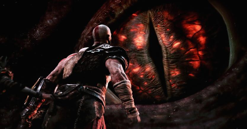 Il videogioco 'God of War'  (Afp)