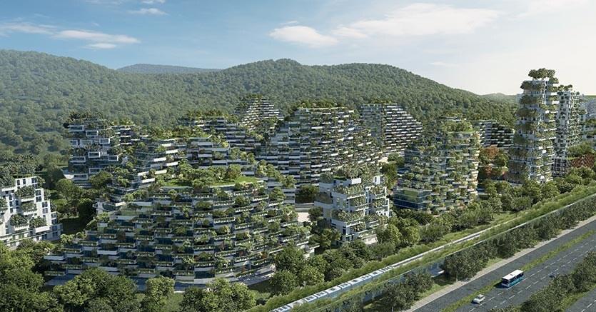 Il «bosco verticale» conquista la cina: una città diventa una