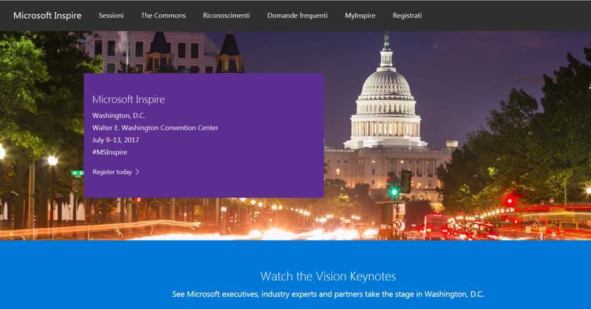 Tutte le novità per partner e aziende — Microsoft Inspire