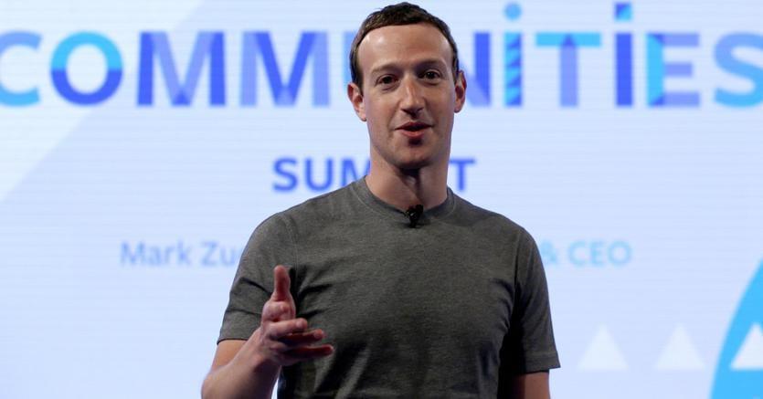 Mark Zuckerberg, ceo di Facebook (Ap)