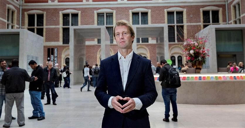 Taco Dibbits, direttore del Rijksmuseum di Amsterdam, fotografia di Inge Van Mill, Courtesy Rijksmuseum, Amsterdam