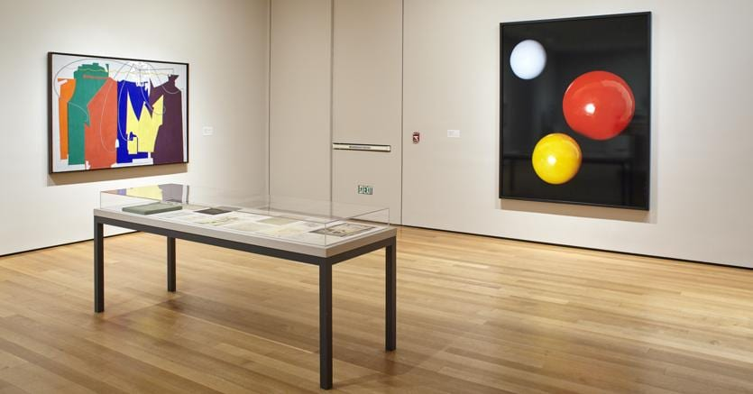 Installation view of the collection galleries at The Museum of Modern Art, New York. (Photo: Robert Gerhardt)