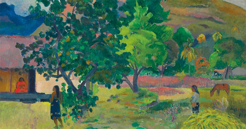 Paul Gauguin, Te Fare (La maison) (1892, estimate: £12,000,000-18,000,000