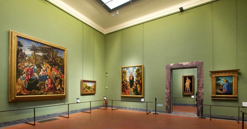 Sala 29 degli Uffizi. (Photo Credit Ferragamo)