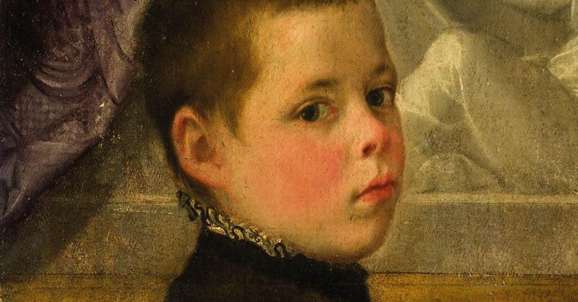 Volto di fanciullo di Federico Barocci