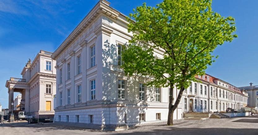 La futura sede del Forum per la cultura della Deutsche Bank a Berlino, Courtesy Deutsche Bank