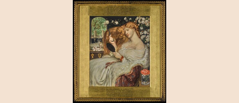 Lady Lilith, 1860 (grande olio su tela), di Dante Gabriel Rossetti in asta da Sotheby's a Londra il 13 luglio, stima 400.000-600.000 sterline