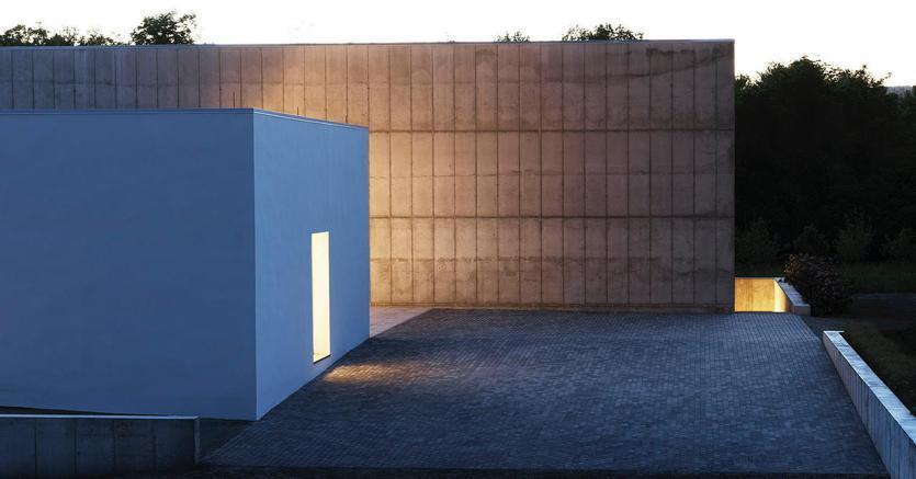 L'esterno del nuovo museo Magazzino nell'Upstate New York (courtesy Magazzino Italian Art)
