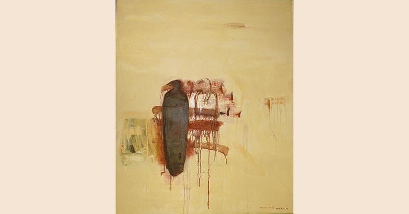 Piero Pizzi Cannella, Piccoli vasi corallo, 2000 olio su legno, 120 x 100 cm, 36.000 $, Courtesy Galerie Henze & Ketterer & Triebold Riehen/Basel